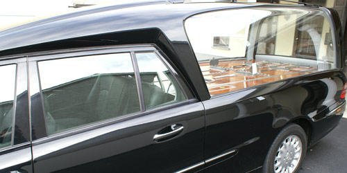 Authentic Binz 5 Door Hearse with Passenger seating